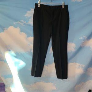 Zara- Black Cropped Dress Pants size 4